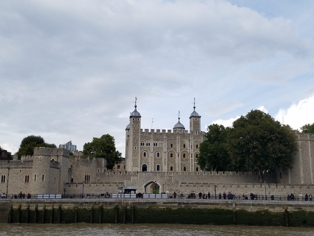 stone fortress of Tower of London